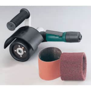 "Dynabrade 13310 Mini-Dynisher Finishing Tool Versatility Kit, .4 HP, Rear Exhaust, 3,200 RPM, 5/8"" Arbor"