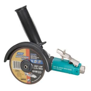 """Dynabrade 52430 4"""" (102 mm) Dia. 7 Degree Offset Cut-Off Wheel Tool, .7 HP, 15,000 RPM, 3/8""""-24 Spindle"""