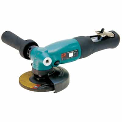 "Dynabrade 52632 4-1/2"" Dia Right Angle Depressed Center Wheel Grinder, 1.3 HP, 12,000 RPM, 5/8""-11 Spindle"