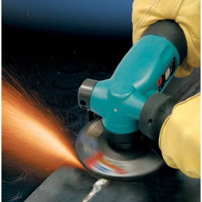 "Dynabrade 52632 4-1/2"" Dia Right Angle Depressed Center Wheel Grinder, 1.3 HP, 12,000 RPM, 5/8""-11 Spindle_2"