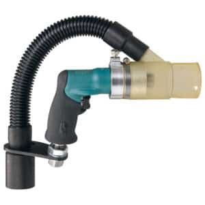 """Dynabrade 52907 1/4"""" Drill, Central Vacuum, .4 HP, Rear Exhaust, 5,500 RPM"""