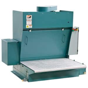 "Dynabrade 64354 26"" x 36"" (660 mm W x 914 mm L) Metal Capture Downdraft Station, 460 V (AC)"