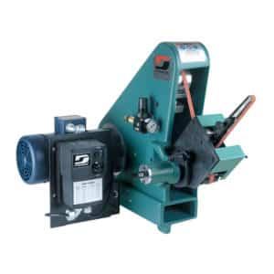 "Dynabrade 64901 Variable Speed Versatility Grinder, 1 hp, 230 V (AC), 1 Phase, 50/60 Hz, 600-4,000 SFPM, for 1/4""-2"" W x 72"" L (6-51 mm x 122 cm) Belts"