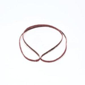 Dynabrade 1/8 inch aluminum oxide belts