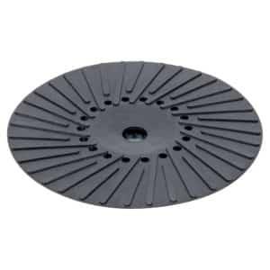 """Dynabrade 50914 9"""" Pad Ass'y, Spiral Rib, Med. 5/8""""-11 Thread, 6,600 RPM Max."""
