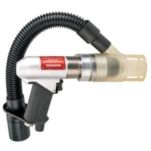 "Dynabrade 53105 Central Vacuum Drill, 950 RPM, 3/8"" Chuck"