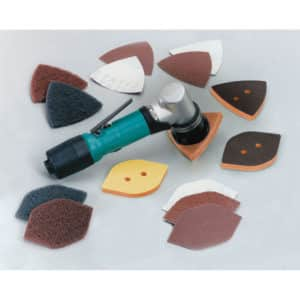 "Dynabrade 57910 Dynafine Detail Sander Versatility Kit, Non-Vacuum, .12 HP, 13,000 RPM, 1/32"" Orbit"