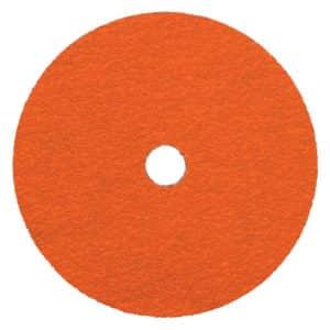 "Dynabrade 78771 9"" Dia. x 7/8"", 36 Grit, Dynacut Ceramic Fibre Disc, 25/box"