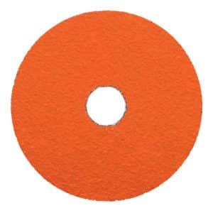 "Dynabrade 79328 4-1/2"" Dia. x 7/8"" Center Hole, 80 Grit, Ceramic DynaCut Fiber Disc, 25/box"