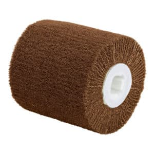 """Dynabrade 79493 4-1/4"""" Dia. x 2"""" W x 5/8""""-11 Center Thread, Coarse, DynaBrite Surface Conditioned Flap Roll"""