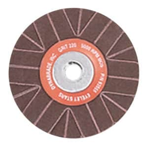 "Dynabrade 93551 2"" Dia. x 1/4""-20 Female Center Thread, 80 Grit, A/O, 3-Ply, J-DynaCut Eyelet Star, 50/pack"