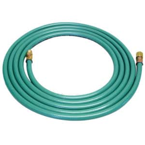 "Dynabrade 94852 12' Max Flow 8mm I.D. Air Hose Assembly, Female (1/4"") / Male (1/4"") Fitting Ends Included"