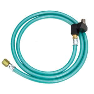 "Dynabrade 94855 5' Max Flow 8mm I.D. Whip hose w/ Composite Swivel, Male (1/4"") / Male (1/4"")"
