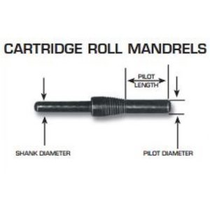 Cartridge Mandrel Dimensions