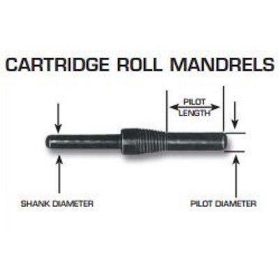 Cartridge Mandrel Dimensions