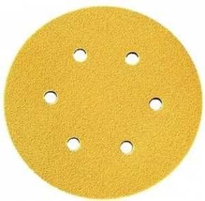 Dynabrade Gold 6 hole Discs