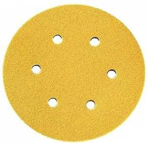 Dynabrade Gold 6 hole Discs