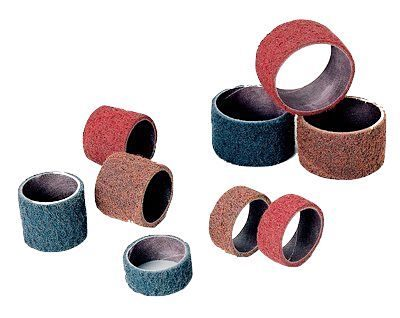 3//4 in Diameter 2 in Wide Pack of 30 40 Grit Spiral Band Pack Qty: 100,