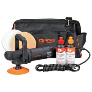 "Dynabrade Nitro Series 50207 - 5"" Right Angle Rotary Buffer / Polisher Kit"