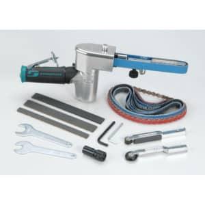 Dynabrade 40324 Dynafile II Abrasive Belt Tool Versatility Kit, Metric Collet