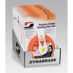 Dynabrade 95996 Random Orbital Sanding Pad, 10-Pak