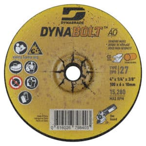 Dynabrade 79840 Type 27 - 4 Grinding Wheel