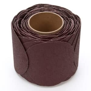 3M 21751, Stikit Cloth Disc Roll 341D, 60 X-weight, 5 in x NH, Die 500X, 7000000249