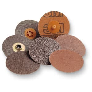 3M 11414, Roloc Disc 361F, P120 XF-weight, TR, 1 in, Die R100N, 7000045104