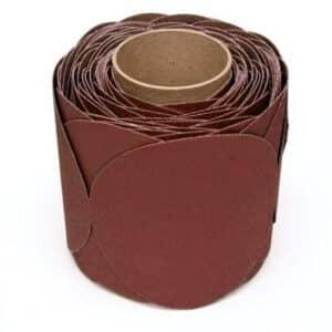 3M 61137, Stikit Cloth Disc Roll 202DZ, P120 J-weight, 5 in x NH, Die 500X, 7010308451