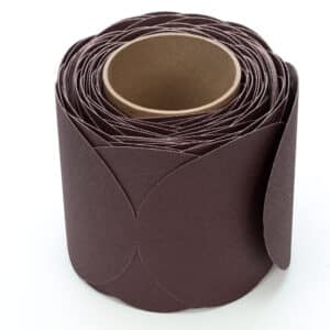 3M 21748, Stikit Cloth Disc Roll 341D, P120 X-weight, 5 in x NH, 7010326148