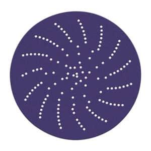 3M 28133, Hookit Clean Sanding Disc 900DZ, 6 in 60 J-weight, Die 500LG, 7010326615