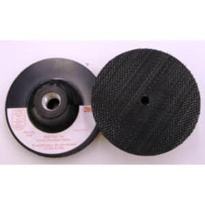 3M 2713526, 3M 5674, Disc Pad Holder, 3M 914, 4 in x 1/8 in x 3/8 in 5/8-11 Internal, 7000120888