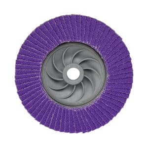 3M 88511, Flap Disc 769F, 60+, Quick Change, Type 27, 4-1/2 in x 5/8 in-11, 7100243877