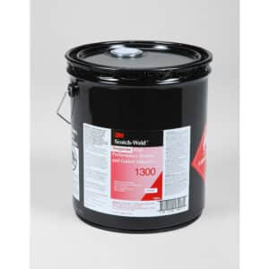 3M 19877, Neoprene High Performance Rubber and Gasket Adhesive 1300, Yellow, 5 Gallon Drum (Pail), 7000121200