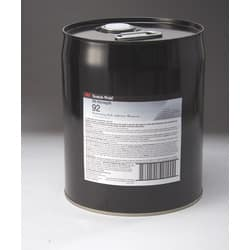 3M 31591, Hi-Strength Laminating 92 Adhesive, Clear, 5 Gallon Drum (Pail), 7010299395