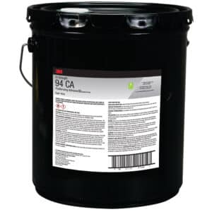 3M 31586, Hi-Strength Postforming 94 CA Fragrance Free Adhesive, Red, 5 Gallon Drum (Pail), 7010330385