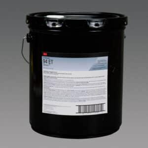 3M 97990, Hi-Strength 94 ET Adhesive, Red, 5 Gallon Drum (Pail), 7100138383