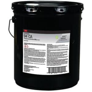 3M 25016, Hi-Strength Postforming 94 CA Adhesive, Clear, 5 Gallon Drum (Pail), 7100139494