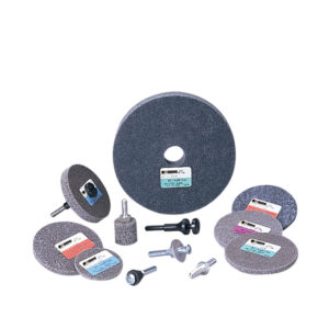 Standard Abrasives 853235, S/C Unitized Wheel, 532, 3 in x 1/4 in x 1/4 in, 7000121886