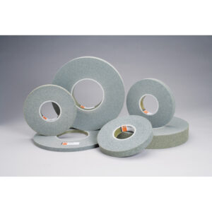 Standard Abrasives 854353, General Purpose Plus Convolute Wheel, 9S Fine, 8 in x 1 in x 3 in, 7000046901