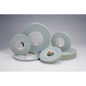 Standard Abrasives 854753, GP Plus Wheel, 8 in x 1/2 in x 3 in 9S FIN, 7000046902