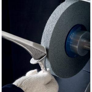 Standard Abrasives 854493, Deburring Wheel, 8 in x 2 in x 3 in 9S FIN, 7000047131