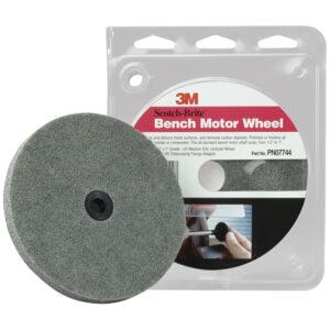 3M 07744, Scotch-Brite Bench Motor Wheel, 7000120887