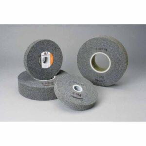 Standard Abrasives 856292, Multi-Finish Wheel, 6 in x 2 in x 1 in 2S MED, 7000121895