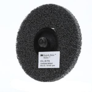 3M 17184, Scotch-Brite Roloc EXL Unitized Wheel TR, 3 in x NH 2S FIN, 7100005209