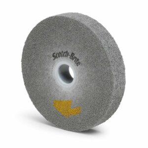 3M 94905, Scotch-Brite EXL PRO Deburring Wheel, EP-WL, 9S Fine, 6 in x 1 in x 1 in, 7100023492