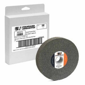 Standard Abrasives 850374, GP Wheel, 6 in x 1 in x 1 in 9S FIN, 7100025515