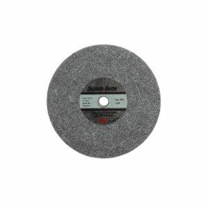 3M 65074, Scotch-Brite Deburr and Finish PRO Unitized Wheel, 6 in x 1/2 in x 1/2 in 6C MED+, 7100088613