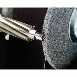 Standard Abrasives 854093, Deburring Wheel, 6 in x 1/2 in x 1 in, 9S FIN, 7100114441